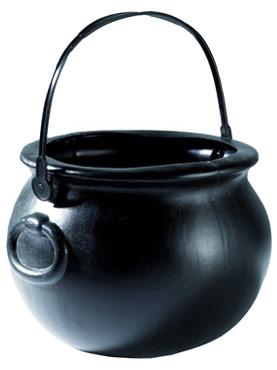 PVC Black Witches Cauldron