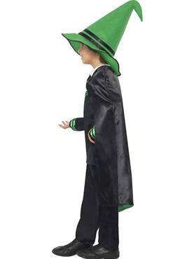 Child Wizard Boy Costume - Back View