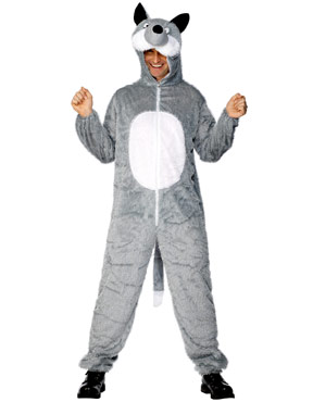 Adult Wolf Costume Thumbnail