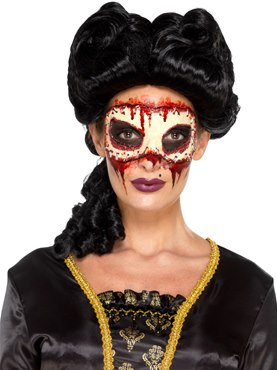 Womens Masquerade Face Off Prosthetic