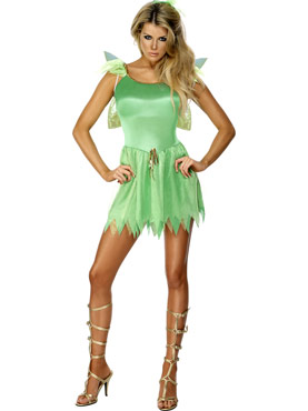 Adult Woodland Fairy Tink Costume