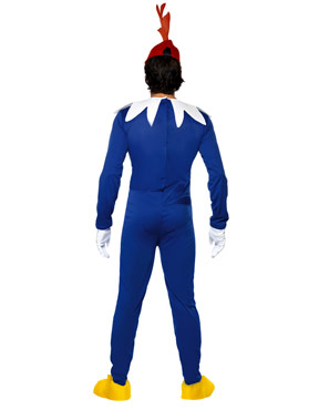 Woody Woodpecker Costume - Back View