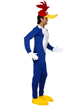 Woody Woodpecker Costume - Side View