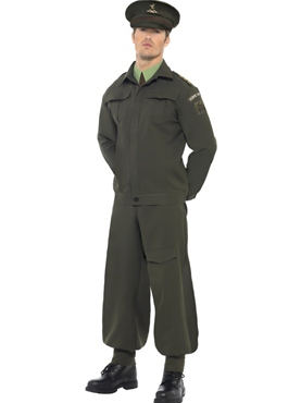 Adult WW2 Dads Army Costume Thumbnail