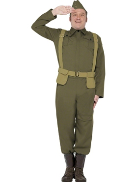 Adult WW2 Home Guard Private Costume