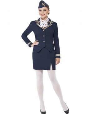 Adult Airways Attendant Costume