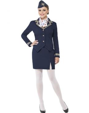 Adult Airways Attendant Costume