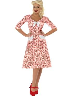 Adult WW2 Sweet Heart Costume