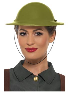WW2 Tommy Hat - Back View