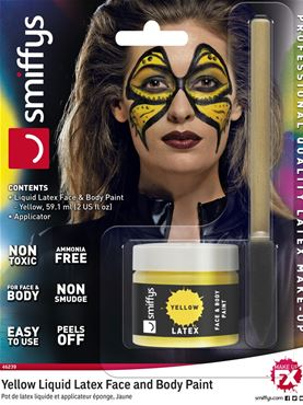 Yellow Liquid Latex Kit