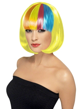 Yellow Partyrama Wig