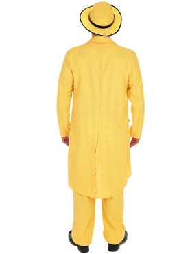 Adult Yellow Suit 'The Mask' Costume - Side View
