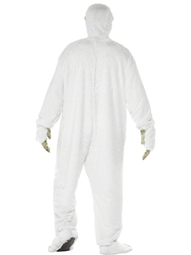 Adult Yeti Costume - Side View