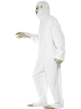 Adult Yeti Costume - Back View