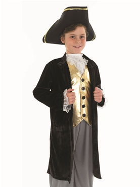 Young Gentlemens Childrens Costume - Back View