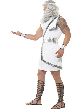 Adult Zeus Costume - Side View