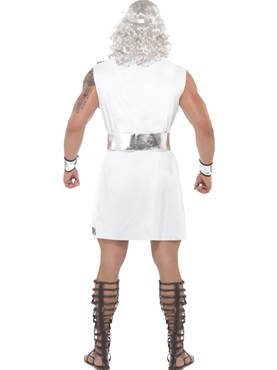 Adult Zeus Costume - Back View