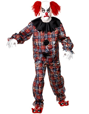 Adult Zombie Alley Clown Costume Thumbnail