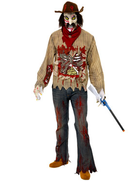 Adult Zombie Cowboy Costume