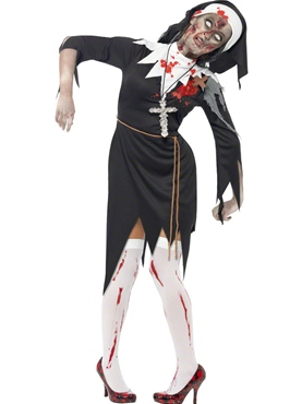 Adult Zombie Bloody Mary Costume 38877 Fancy Dress Ball