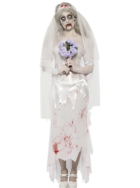 Adult Zombie Bride Costume Thumbnail