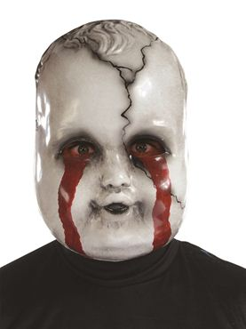 Adult Crying Chrissie Doll Mask