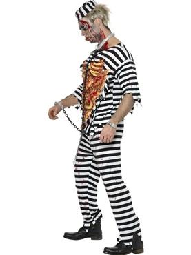 Zombie Convict Costume - Side View