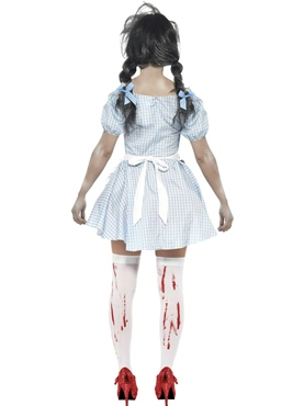 Adult Zombie Dorothy Costume - Side View