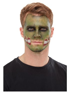 Zombie Face Transfer Makeup Kit - Side View