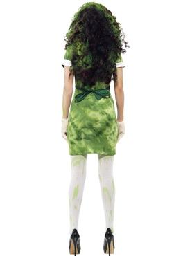Adult Biohazard Lab Nurse Costume - Side View