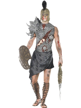 Adult Zombie Male Gladiator Costume