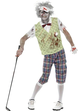Adult Zombie Golfer Costume