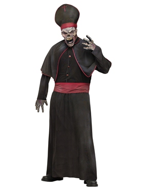 Mens Zombie High Priest Costume Thumbnail