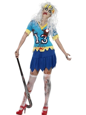 Adult Zombie Hockey Player Costume