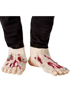 Zombie Latex Shoe Covers