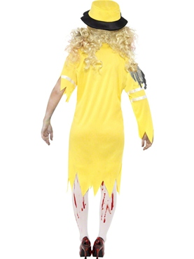 Adult Zombie Lollipop Lady Costume - Back View
