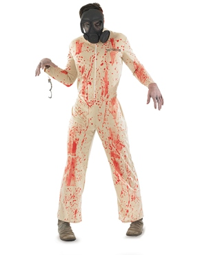 Adult Zombie Male Prisoner Costume
