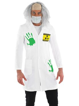 Adult Radioactive Lab Coat Costume Thumbnail