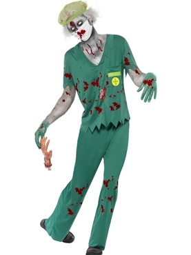 Adult Zombie Paramedic Costume