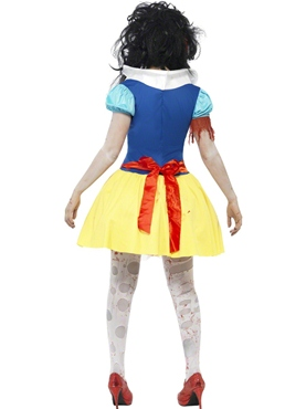 Adult Zombie Snow Fright Costume - Side View
