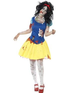 Adult Zombie Snow Fright Costume Couples Costume