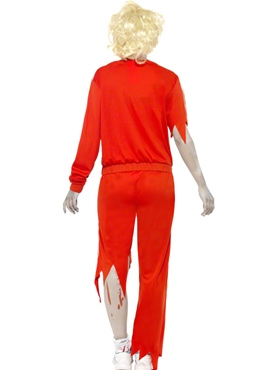 Adult Zombie Sports Teacher Costume - Side View
