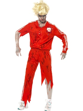 Adult Zombie Sports Teacher Costume