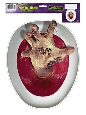Zombie Toilet Lid Topper