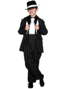 Child Zoot Suit Childrens Costume