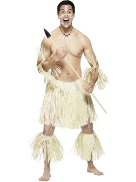 Adult Zulu Warrior Costume