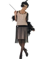 Adult 1920's Coco Flapper Costume