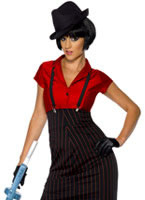 Adult 1920's Ladies Gangster Costume