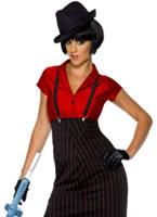 Adult 1920's Ladies Gangster Costume [33722]