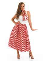 Adult 50s Red Rock n Roll Skirt